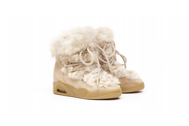 MOON - WHITE BEAVER & SUEDE View 2