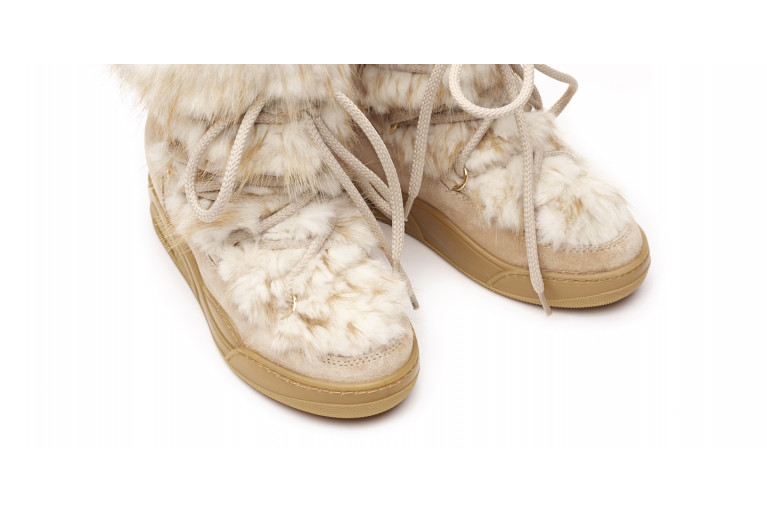 MOON - WHITE BEAVER & SUEDE View 5