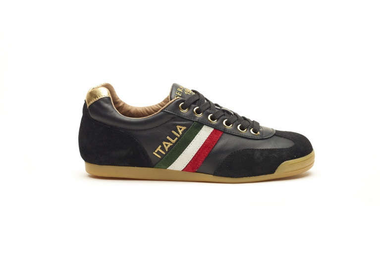 FLAT ITALIA - BLACK & GOLD View 1