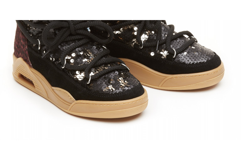 MOON CUT LOW - PAILLETTES & ANIMALIER View 5