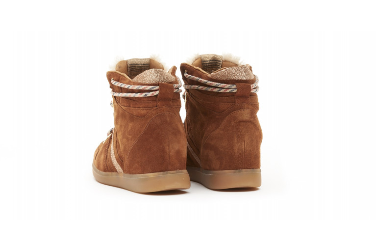 MANHATTAN - TOBACCO & SHEARLING View 2