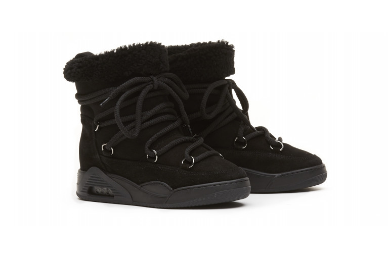 MOON ZV - BLACK ECOSHEARLING View 2