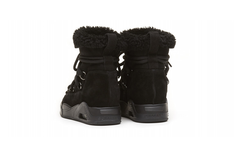 MOON ZV - BLACK ECOSHEARLING View 3
