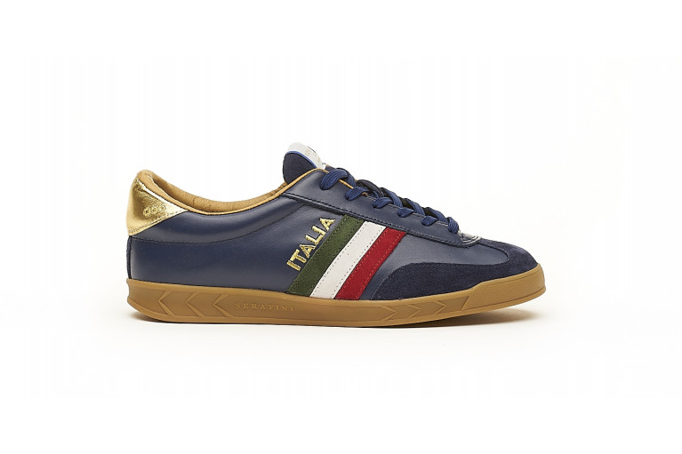 FLAT GOLD - NAVY View 1