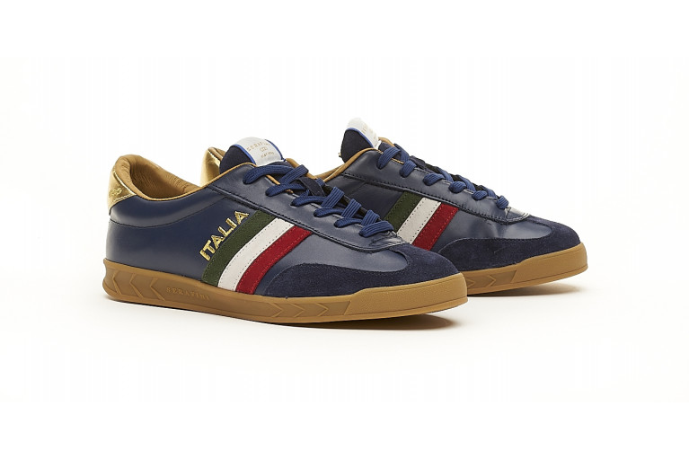 FLAT GOLD - NAVY View 2