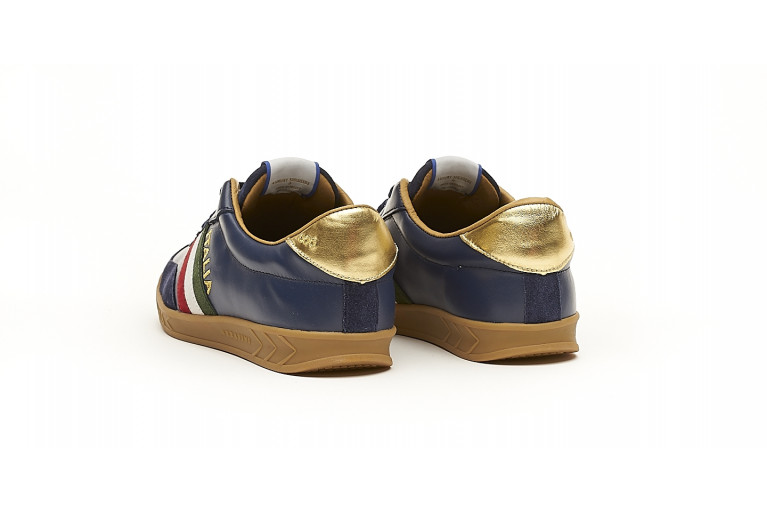 FLAT GOLD - NAVY View 3