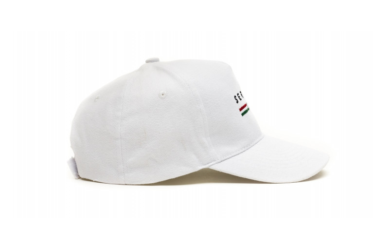 HAT - ITALY WHITE View 2