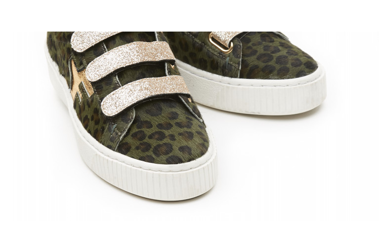 MADISON - GOLD & GREEN ANIMALIER View 5