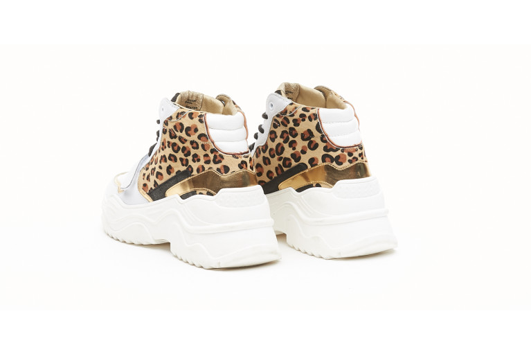 VANCOUVER - LEOPARD & WHITE View 3