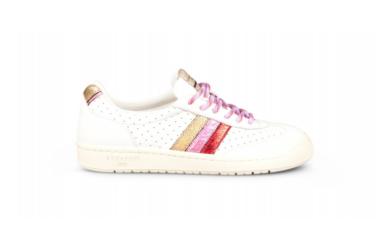COURT - PERFORATED WHITE & MULTICOLOR View 1
