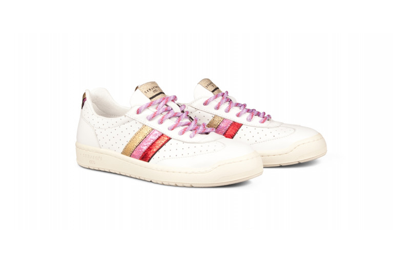 COURT - PERFORATED WHITE & MULTICOLOR View 2