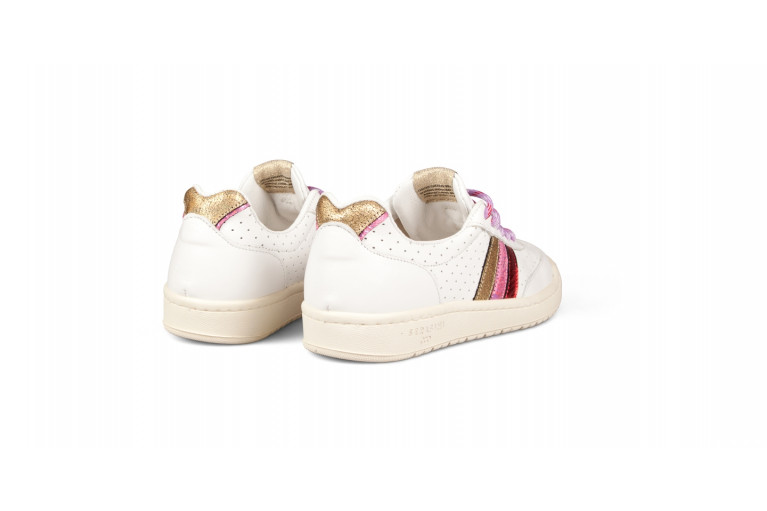 COURT - PERFORATED WHITE & MULTICOLOR View 3