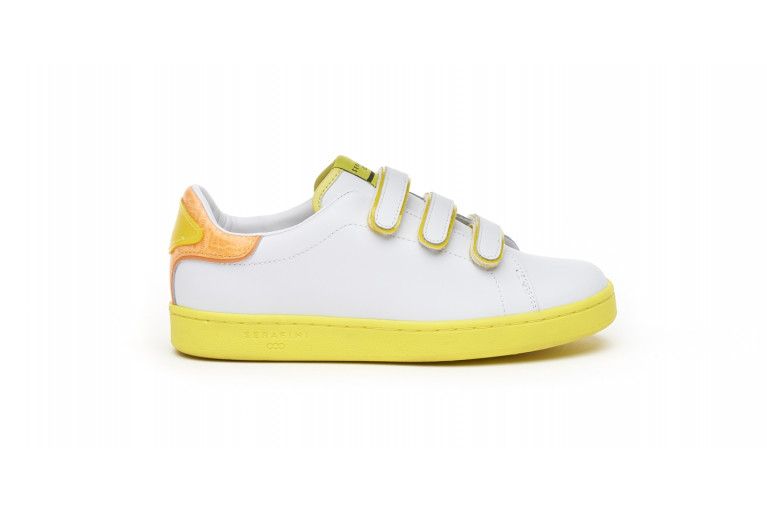 J. CONNORS - WHITE & YELLOW FLUO View 1
