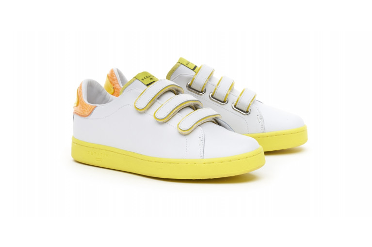J. CONNORS - WHITE & YELLOW FLUO View 2