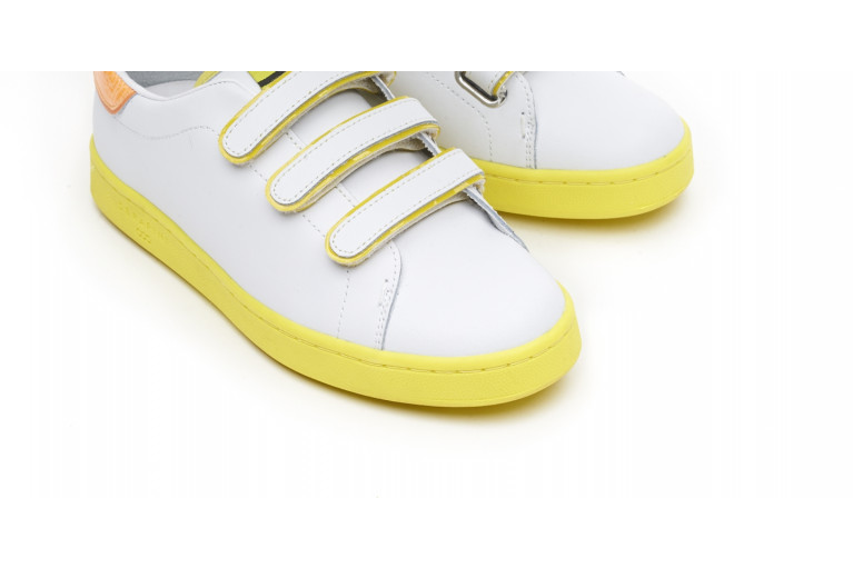 J. CONNORS - WHITE & YELLOW FLUO View 4