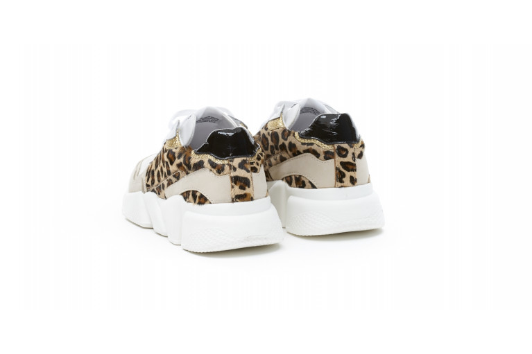 OREGON - LEOPARD BEIGE & WHITE View 3
