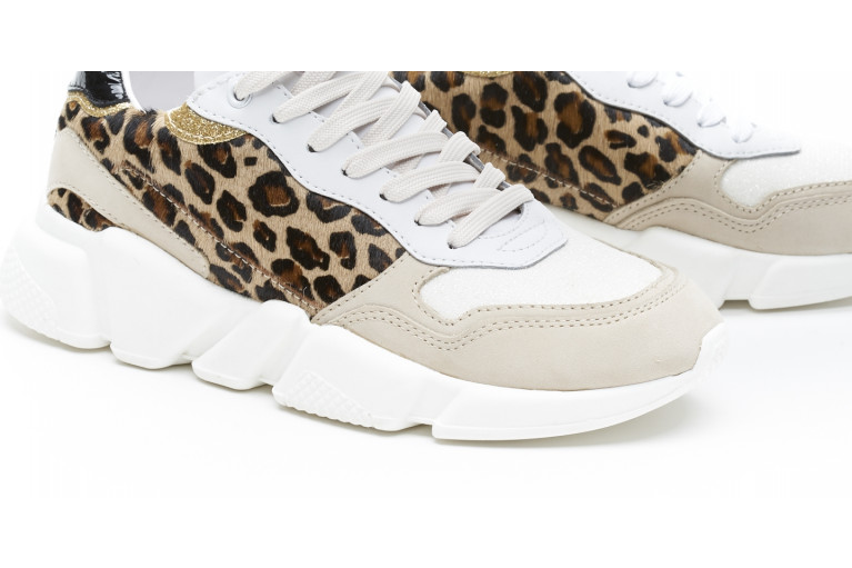 OREGON - LEOPARD BEIGE & WHITE View 5