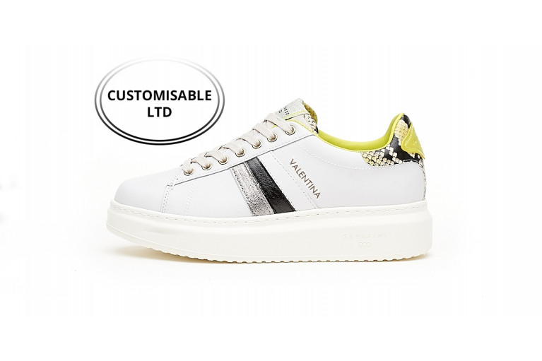 J. CONNORS -  WHITE BLACK YELLOW CUSTOMISABLE LTD View 1