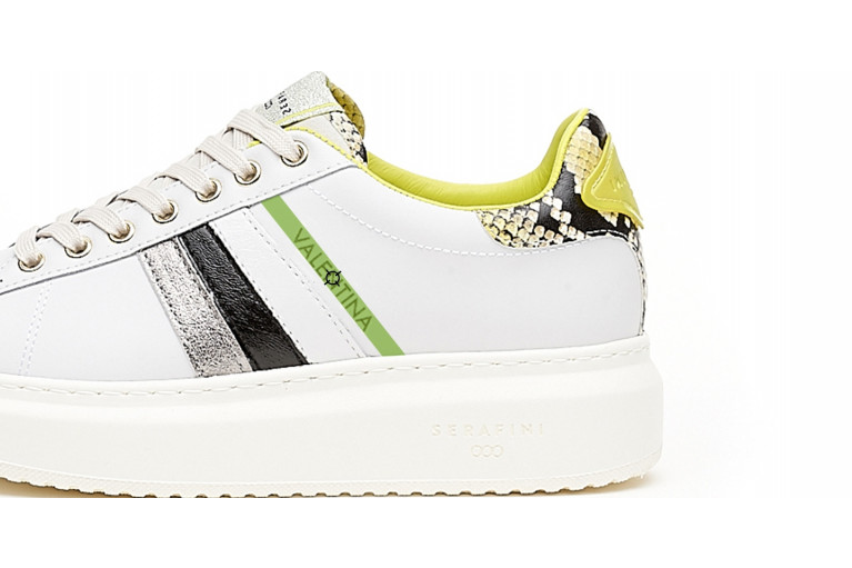 J. CONNORS -  WHITE BLACK YELLOW CUSTOMISABLE LTD View 2