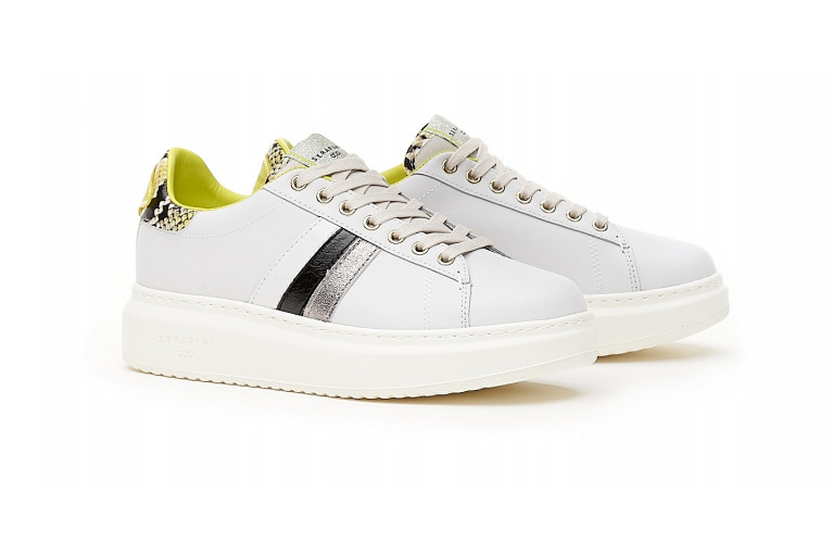 J. CONNORS -  WHITE BLACK YELLOW CUSTOMISABLE LTD View 3