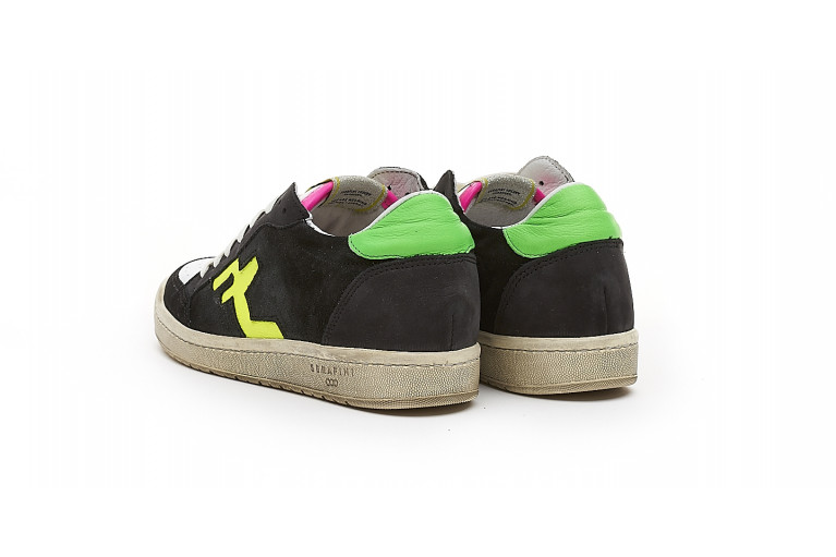 SAN DIEGO LOW  - BLACK FLUO View 3