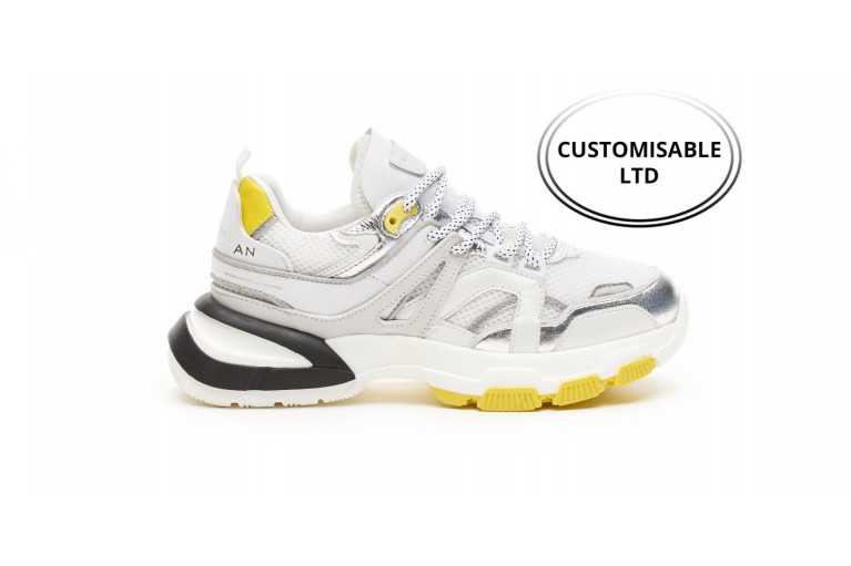STELLA - WHITE SILVER YELLOW CUSTOMISABLE LTD View 1