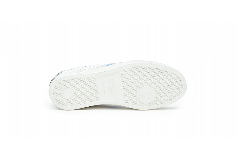 FLAT GOLD - PERFORATED WHITE BLUE View 4