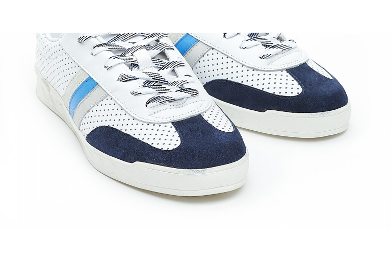 FLAT GOLD - PERFORATED WHITE BLUE View 5