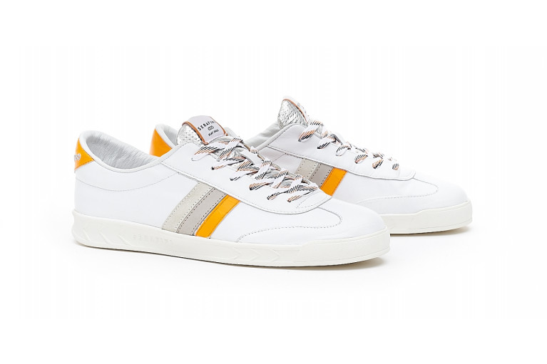 FLAT GOLD - WHITE ORANGE View 2