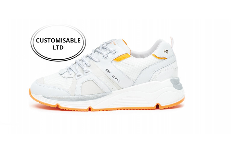 TOKYO - WHITE FLUO-ORANGE CUSTOMISABLE LTD View 1