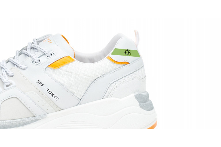 TOKYO - WHITE FLUO-ORANGE CUSTOMISABLE LTD View 2