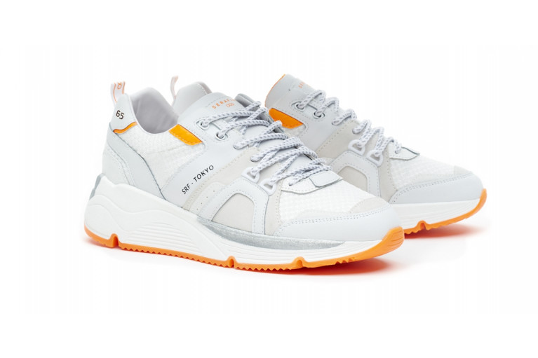 TOKYO - WHITE FLUO-ORANGE CUSTOMISABLE LTD View 3