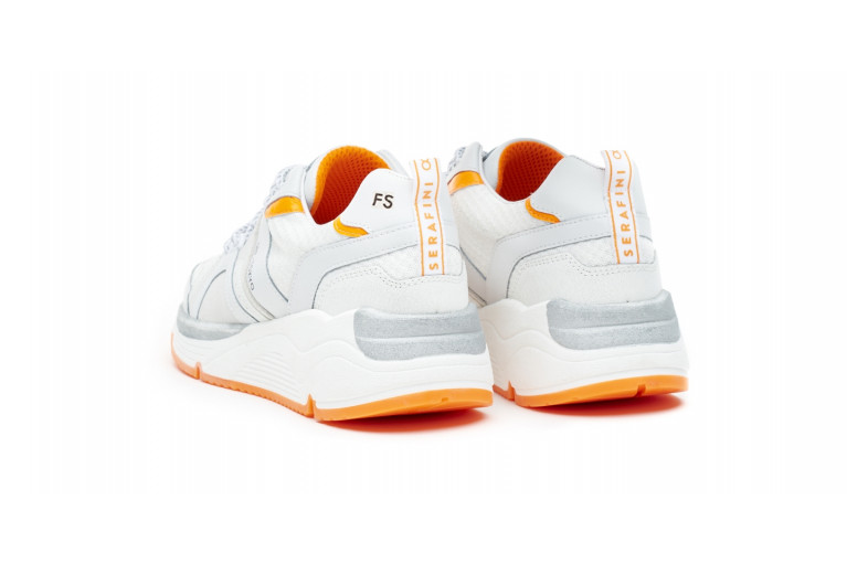 TOKYO - WHITE FLUO-ORANGE CUSTOMISABLE LTD View 4