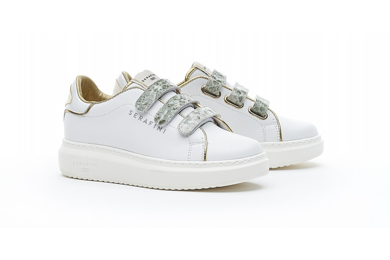 J.CONNORS - WHITE MILITARY PYTHON View 2
