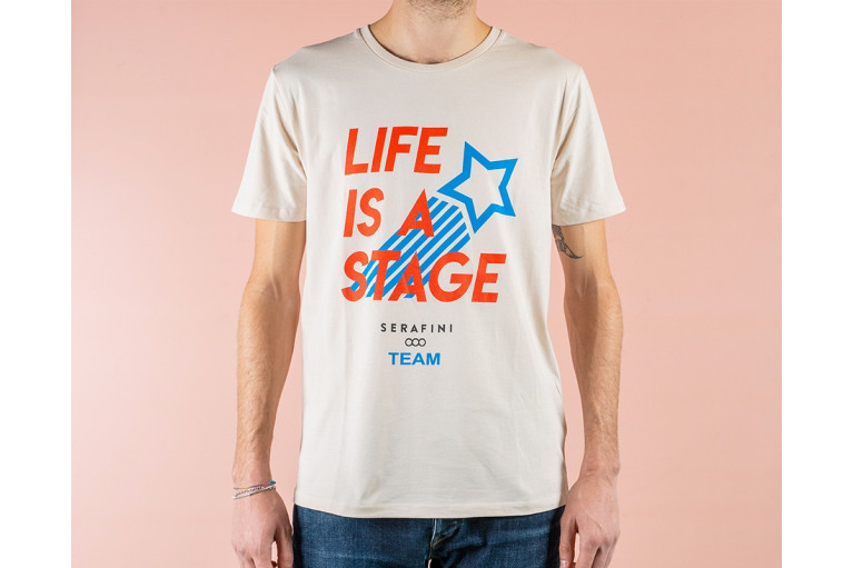 T-SHIRT LIFE IS A STAGE View 2