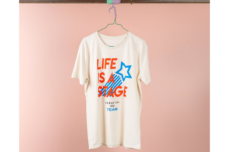 T-SHIRT LIFE IS A STAGE View 1