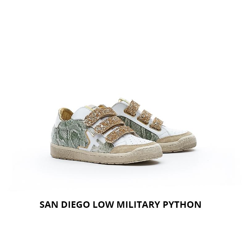Serafini San Diego Low military python