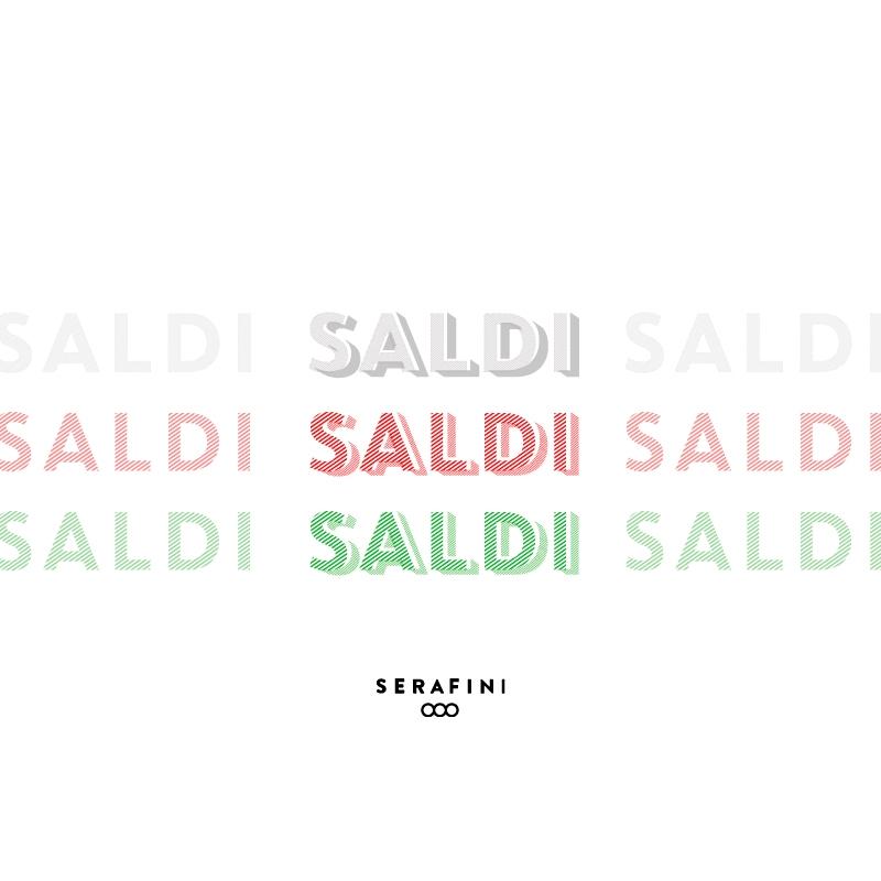 Saldi design sneakers Serafini