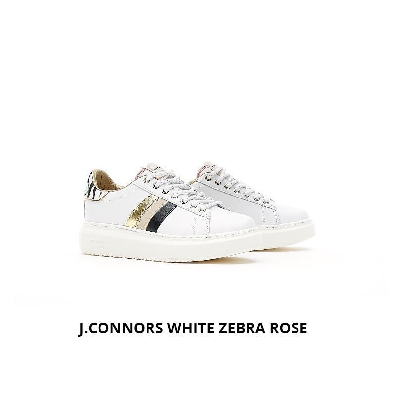Serafini J.Connors White Zebra Rose