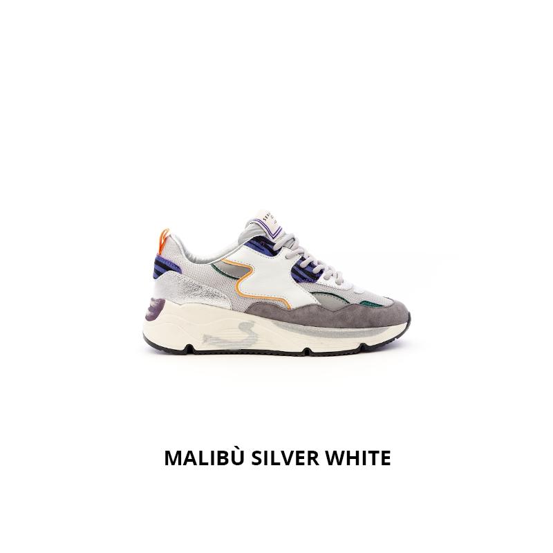 Serafini Malibu Silver White