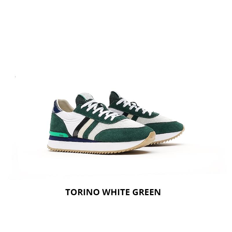 Serafini Torino White Green